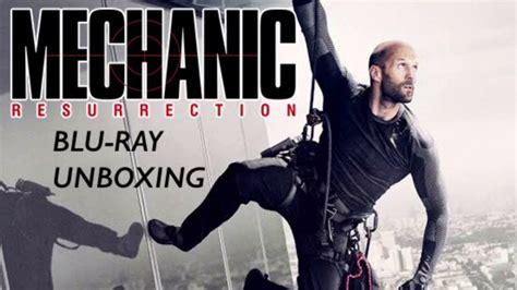film blu watch mechanic resurrection blu ray unboxing filmed in 4k