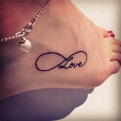 tatuajesd infinito con corazones y nombre 60 ideas para tatuajes del infinito con nombre y letras