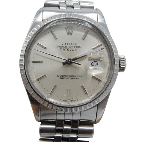 Rolex Datejust Automatic 1 rolex oyster perpetual datejust vintage automatic watches steel silvery ref 42259 joli closet