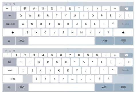keyboard themes ios 9 ios 9 keyboard for ipad hints at larger ipad pro ubergizmo