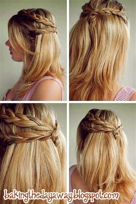 tutorial rambut pendek terbaru tutorial ikat rambut ala korea simple tutorial kepang