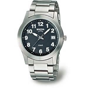Wrist Watches Boccia Titanium B3550 04 S Chuncky 50m Wrist