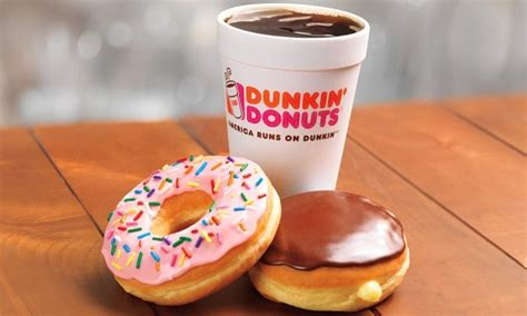 Coffee Dunkin Donuts donuts and coffee dunkin donuts groupon