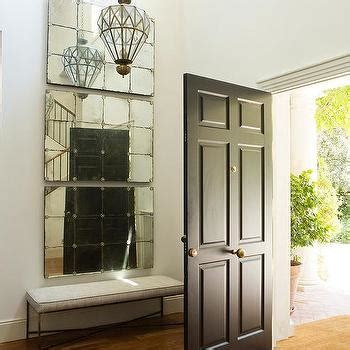 foyer mirror ideas for a two story blank wall on the foyer decor