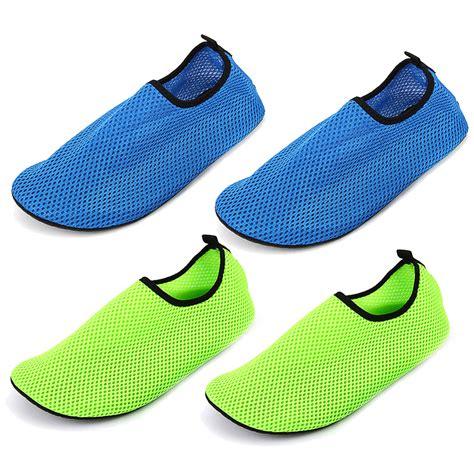 swim shoes for and water shoes neoprene mesh aqua socks