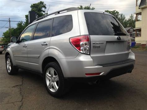 2010 subaru forester tires purchase used 2010 subaru forester x limited wagon 4 door