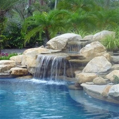 Rock Waterfalls For Gardens 21 Best Backyard Waterfalls By Waterfalls Fountains Gardens Inc Images On