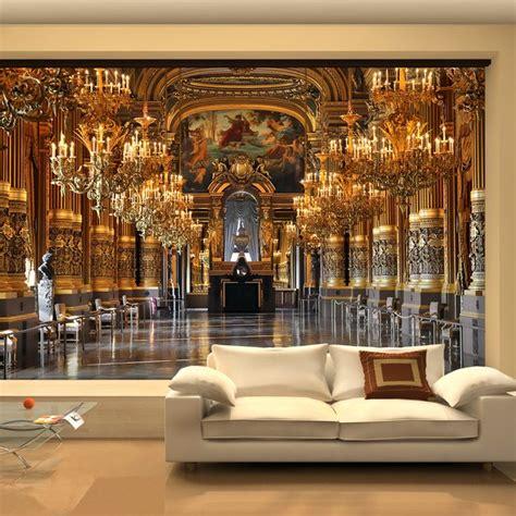 large  wallpaper mural european minimalist living room sofa bedroom wallpaper backdrop palace