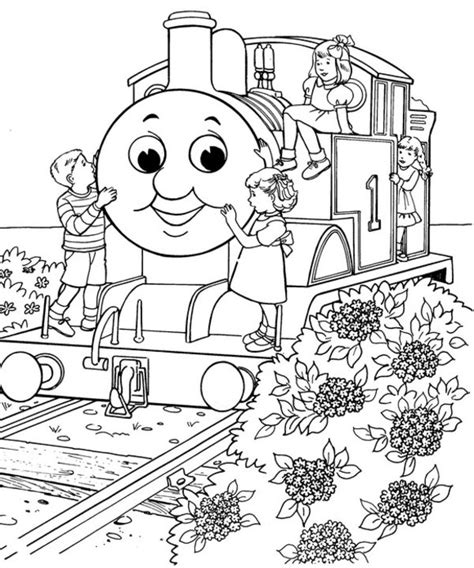 large coloring pages of thomas the train thomas train coloring pages large coloring pages of thomas