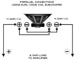 car speakers dual voice coil wiring diagram get free image about wiring diagram