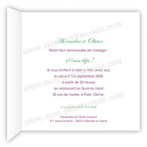invitation anniversaire 60 ans gratuit fashion designs