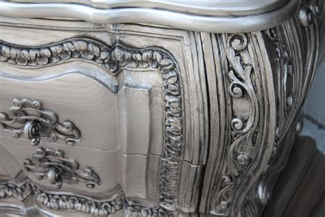 Silver Metallic Paint For Wood Furniture by Silver Furniture Most Talked About Finish The Magic