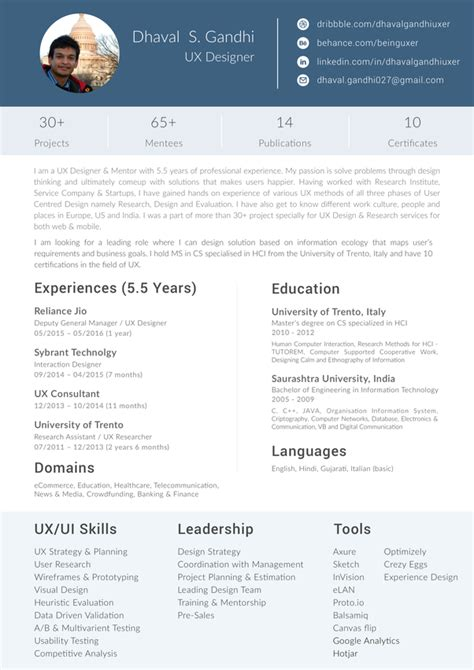 Resume Format For Graphic Designer by What Is The Format For A Graphic Designer Resume Fresher