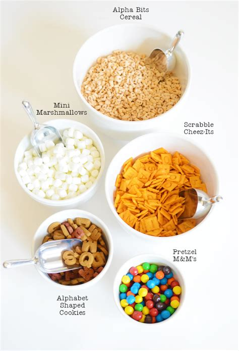 Detox Snack Ideas Fgor School by Back To School Snack Mix Project Nursery
