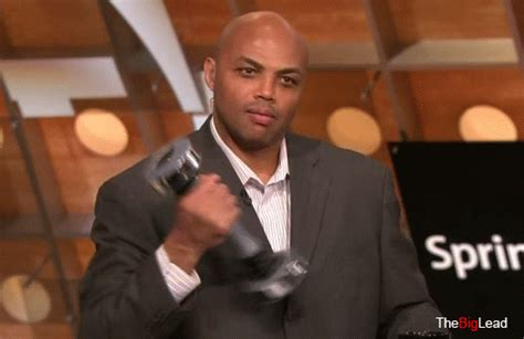 insider look at shake it up makeover russ wade of here s charles barkley using a shake weight on inside the