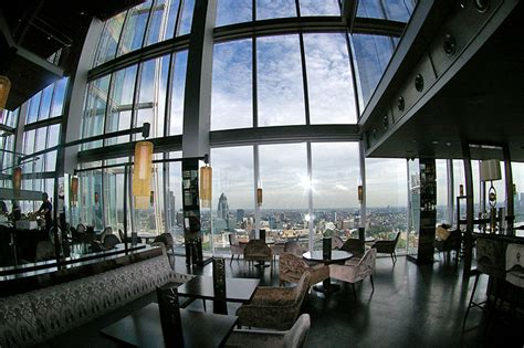 bar at the top of the shard hutong aqua shard av hire av installation sound