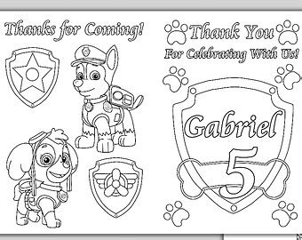 paw patrol happy birthday coloring page paw patrol coloring pages happy birthday sketch coloring page
