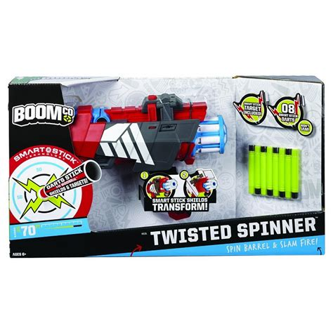 Boomco Twisted Spinner boomco blaster twisted spinner z 8 rzutkami
