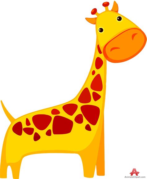 free animal clipart giraffe animal clipart free clipart design