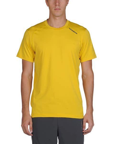 Kaos T Shirt Design I Adidas porsche design sport by adidas t shirt in yellow for lyst