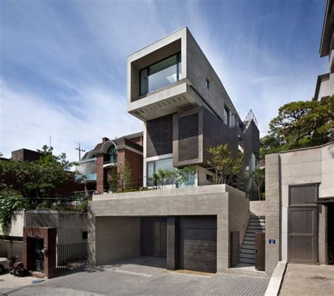 massive three level family residence in south korea h house freshome com