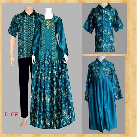 Baju Batik Muslim gambar gamis batik koleksi batik modern design bild