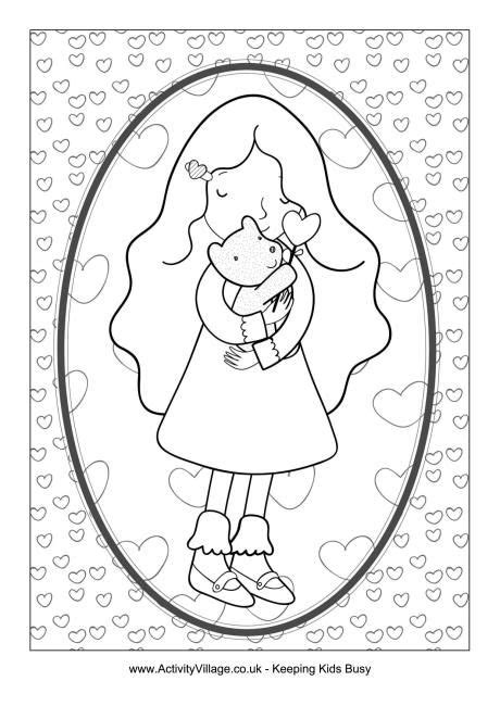 valentine coloring pages activity village 17 best images about valentine s day for kids on pinterest