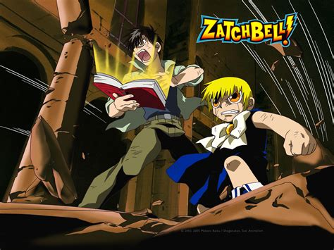 gash bell zatch bell photos and wallpapers