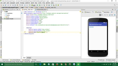 android studio open another layout building first android application with android studio