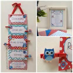 Kindergarten Door Decoration Ideas Red And Blue Owl Classroom Decor Set Speech Room Style
