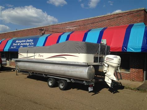 pontoon boat covers on the water boat covers bimini tops delta tent awning company