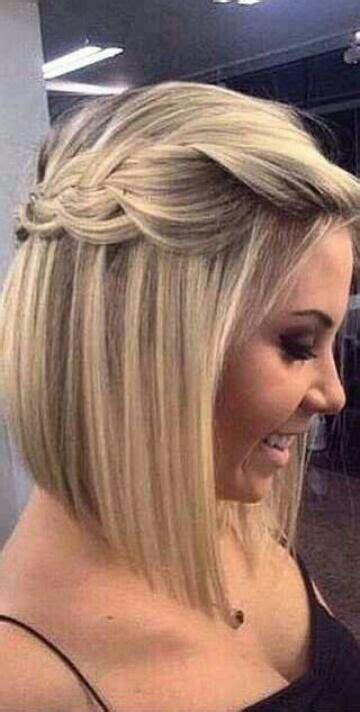 foto de peinado con pelo mediano trenzas y peinados para cabellos cortos hola mamior