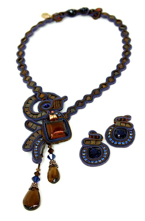 Handmade Jewelry Israel - nyigf necklace earrings from israel by dori
