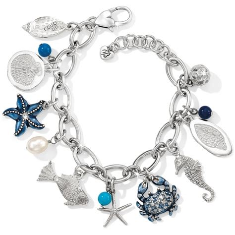 charms for jewelry seascape seascape charm bracelet bracelets