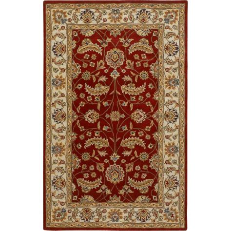 Artistic Weavers Brisbane Red Wool 8 Ft X 11 Ft Area Rugs Brisbane
