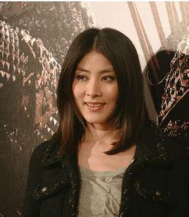 hong kong stars with bob haircuts hong kong actress and singer kelly chen with medium long