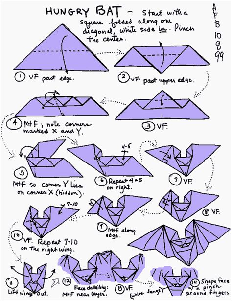 How To Make Paper Bats - circle september 2010