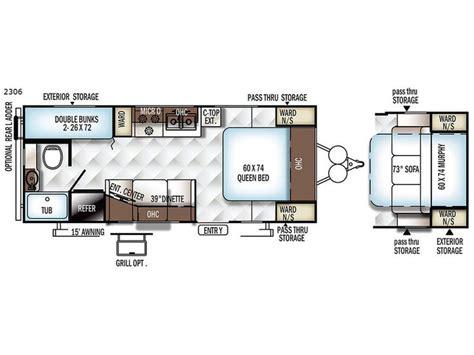 rockwood rv floor plans 17 best ideas about rockwood travel trailers on travel trailer floor plans travel