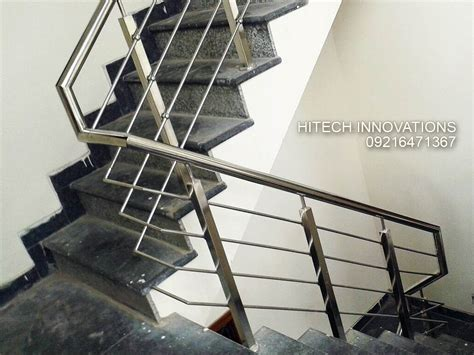 steel banister stainless steel railings in mohali chandigarh and