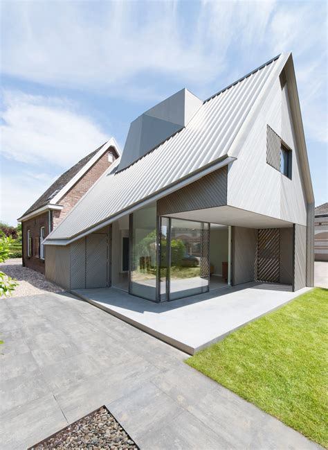 architecture house design a contemporary addition to an existing dutch house