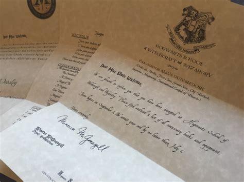 sample hogwarts acceptance letter templates