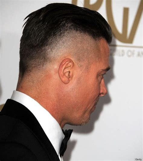 brad pitt s fury haircut a stylish undercut gallery brad pitt s fury hairstyle