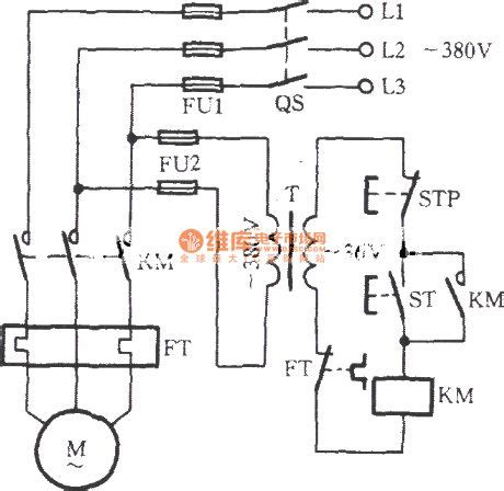 Three Phase Motor With 36v Low Voltage Control Circuit