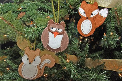 100 christmas felt ornament patterns if you really