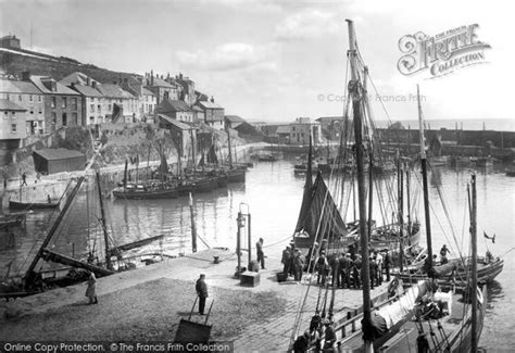a history of mevagissey books mevagissey the harbour 1920 francis frith