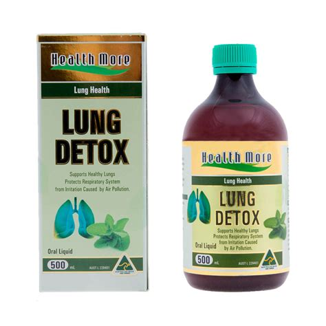 Respiratory Detox by Health More Lung Detox 500ml Shopping Australia