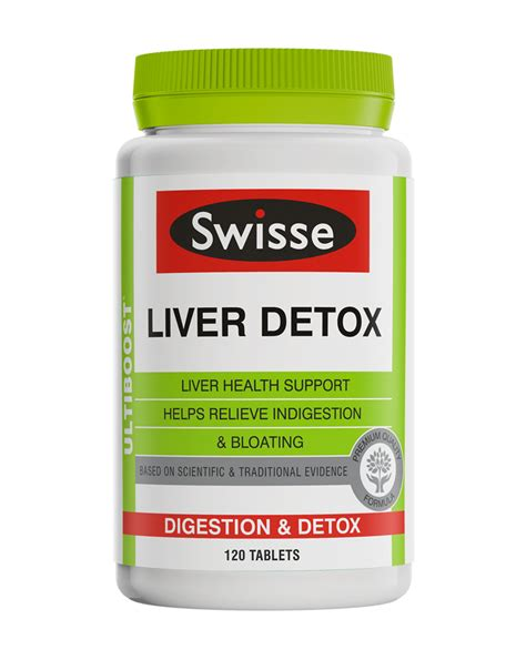 Detox Australia by Swisse Ultiboost Liver Detox Reviews Productreview Au