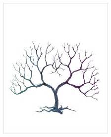 Thumbprint Tree Template by Family Tree Template Family Tree Thumbprint Template