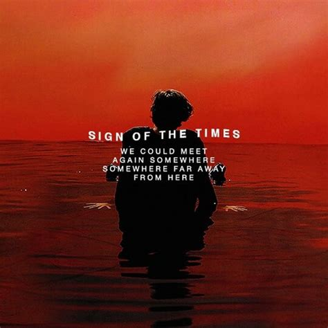 A Sign Of The Times sign of the times harry styles on we it