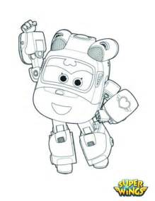 Super Wings Coloring Pages Sketch Page sketch template